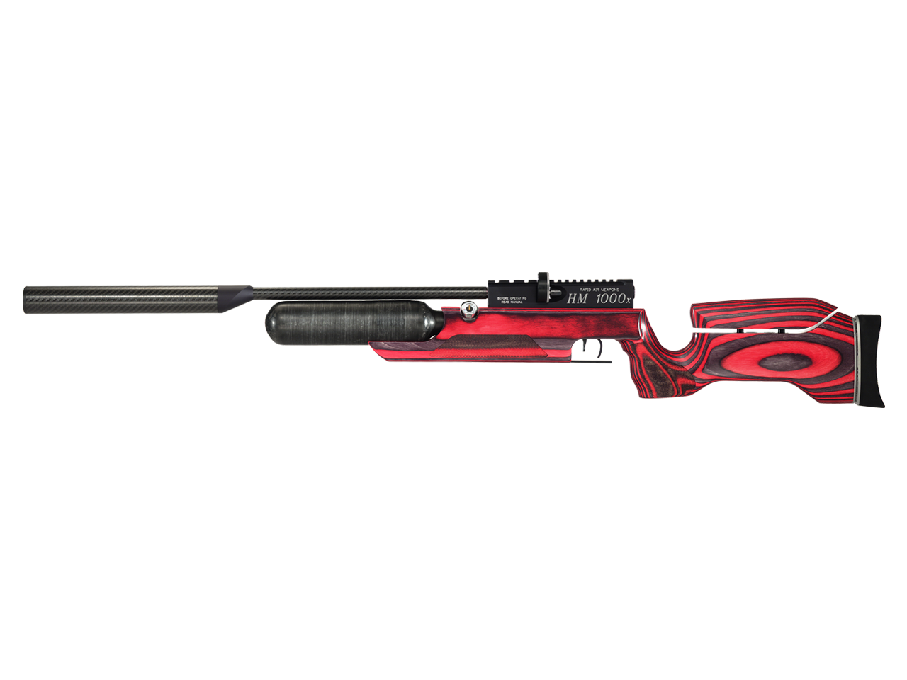RAW PCP Rifle HM1000X LRT Wood