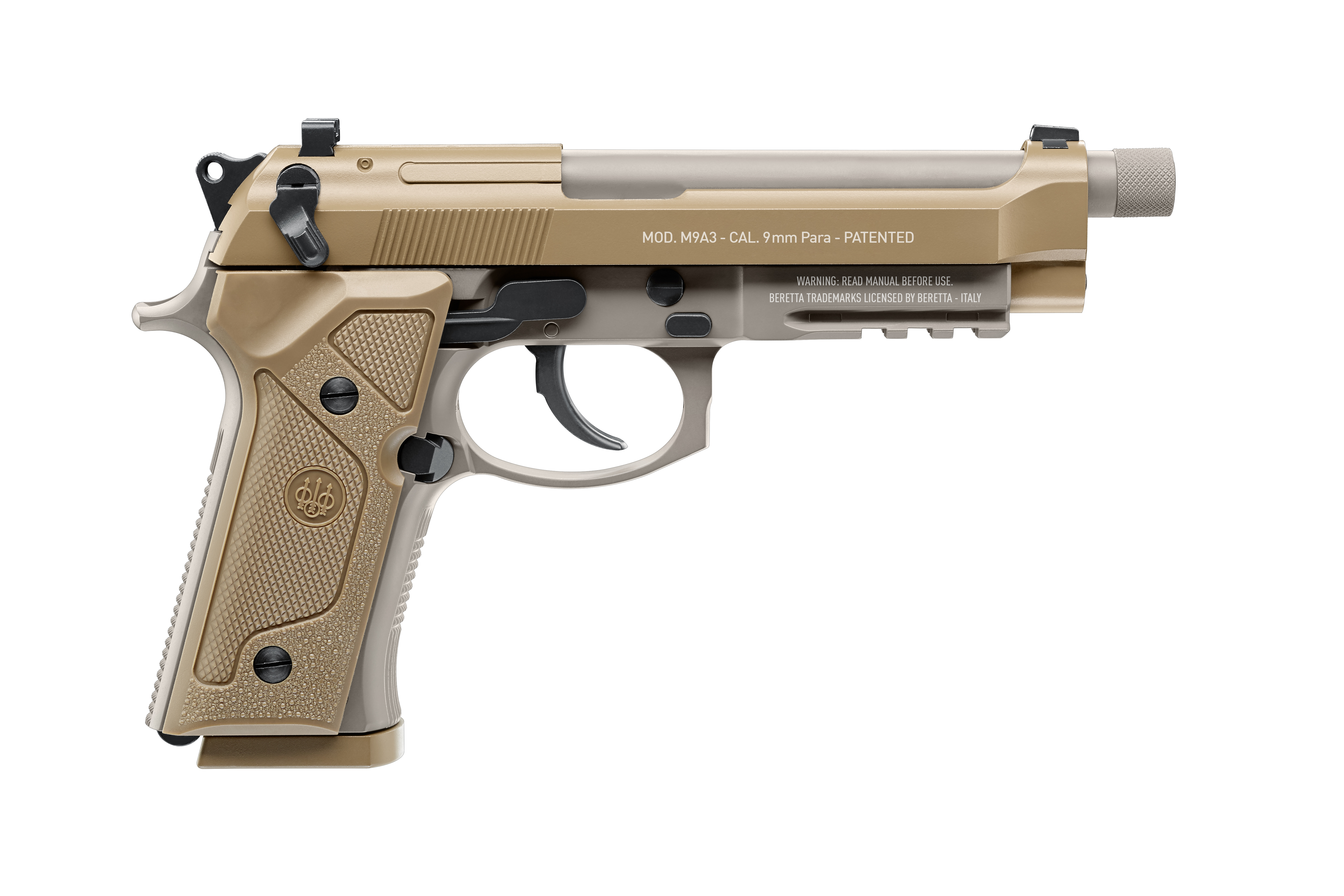 BERETTA (Umarex R) CO2 Airgun Replica MOD. M9A3
