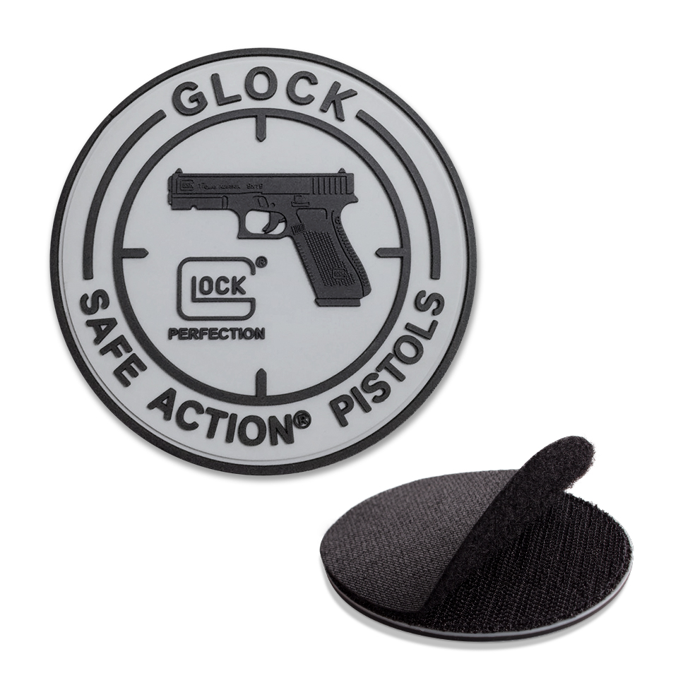 GLOCK Rubber Patch  Velco