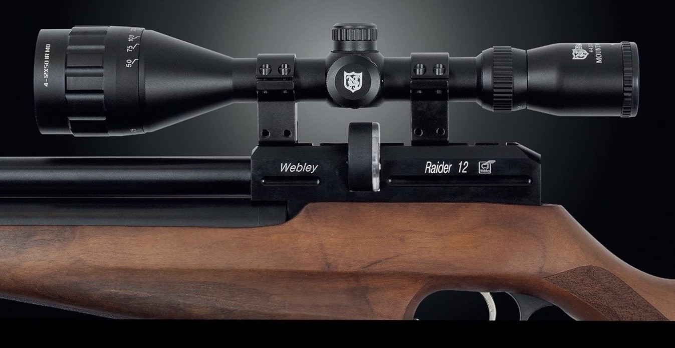 NIKKO STIRLING Rifle Scope Mountmaster AO HMD